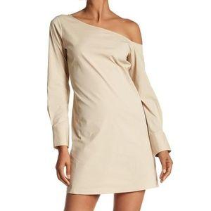 Theory Ulrika B One Shoulder Dress